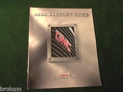 Mint 1999 Gmc Product Guide Sales Brochure Yukon Suburban Original (Box 441)