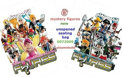 Playmobil  Mystery Figures Serie 8  New  5596  5597   In Unopened Sealing Bag