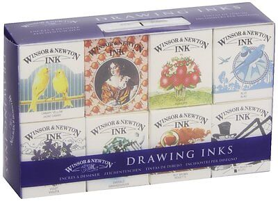 Winsor Newton Henry Collection Drawing Ink Set Artists Painting FREE POST
