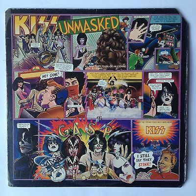 Kiss - Unmasked 1980 NBLP 7225 Naked City Two Sides Tomorrow Gene Simmons Rock