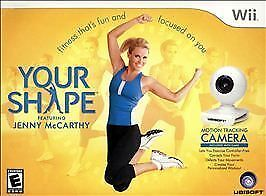 Your Shape With Camera Wii New! Fitness Workout, Biggest Loser, Cardio, Strength