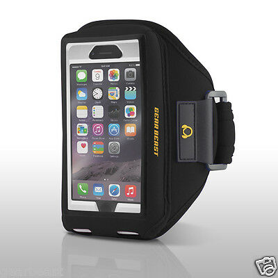Gear Beast Case Compatible Sport Armband iPhone 7/6s/6 & Galaxy S7/6 w/Otterbox