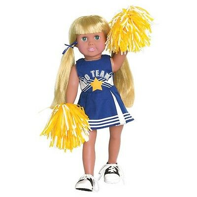 Springfield® Blue Cheerleader Outfit Made To Fit American Girl 18 Inch Dolls