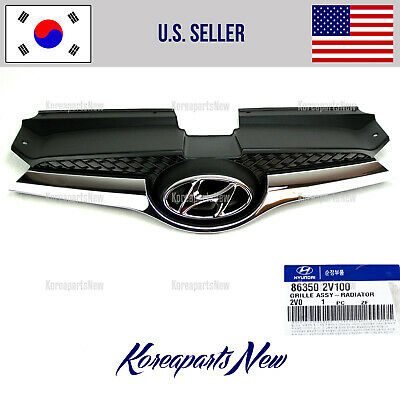 2017-2018 KIA SPORTAGE (GENUINE) 86350D9000 Front Bumper-Grille Assembly