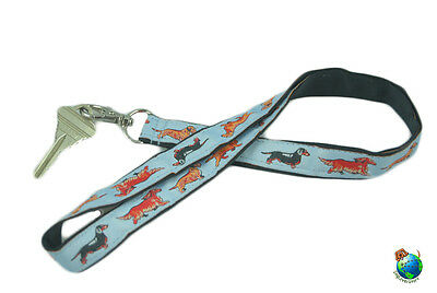 Dachshund Lanyard Key & Badge Holder