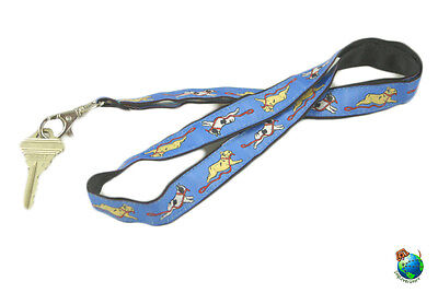 French Bulldog Lanyard Key Holder Badge Holder