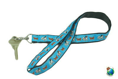 Papillon Lanyard Key & Badge Holder