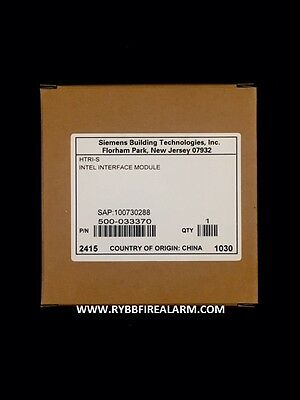 New Siemens Htri-S Intel Interface Module . Free Ship !!! Same Business Day