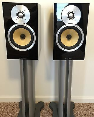 B&W CM5 Main / Stereo Speakers With Stands
