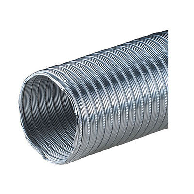 "Aluminium Flexible Hose 75mm / 3"" Alloy Ducting Tube Flexi Duct Pipe"