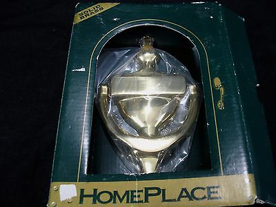 NEW HOME PLACE Solid Brass Door Knocker Colonial Style w/ Hardware
