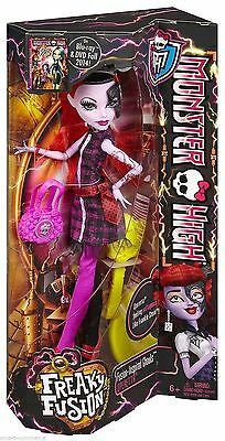 New Authentic Monster High Freaky Fusion Operetta Doll for Girls | CPB37