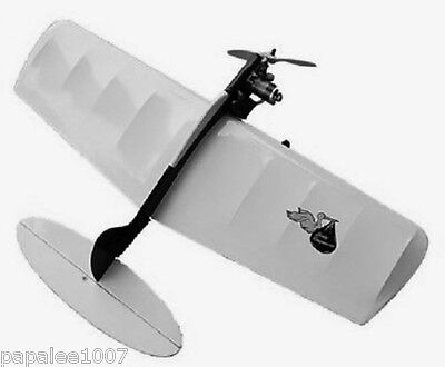 """Model Airplane Plans (UC): BABY RINGMASTER 22""""ws for .049-.061 Engines"""