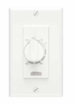 Broan NuTone P59WN 60-MINUTE TIME CONTROL timer bathroom fans white MINUTERIE