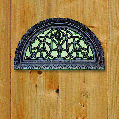 Nuvo Iron ACW63 HALF ROUND DECORATIVE GATE FENCE INSERT Insert demilune BARRIÈRE