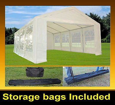 PE Party Tent  26'x13' - Heavy Duty Party Wedding Tent Canopy Shelter - White