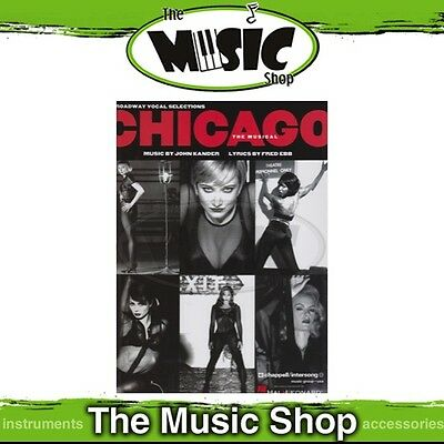 New Chicago the Musical Broadway Vocal Selections Music Book