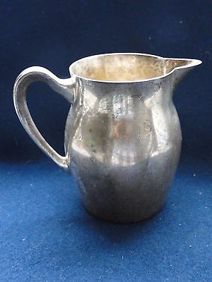 Cream Jug, Sterling Silver, Paul Revere Copy, American 1920, Great Quality