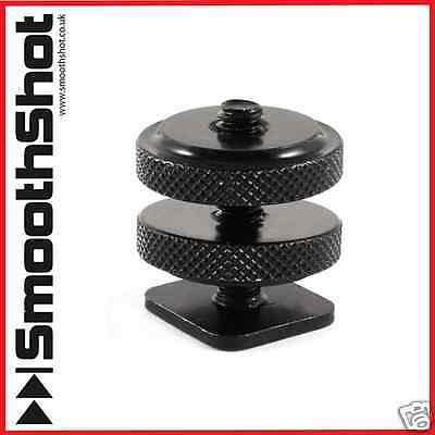 "1/4""-20 Tripod Screw To Flash Hot Shoe Cold Shoe High Quality Dslr Adapter Mount"