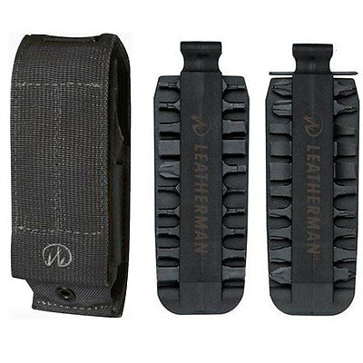 Leatherman Universal XL MOLLE Sheath For Mut, With 42 Piece Bit Kit