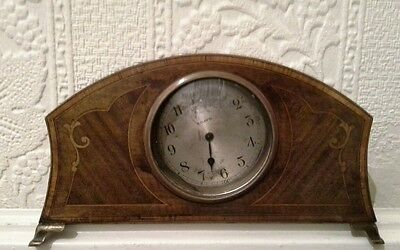 8 day rosewood mantel clock