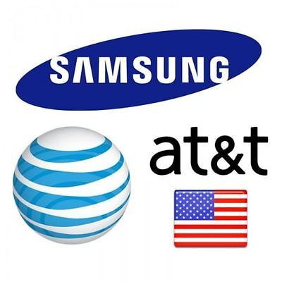 Unlock Service Code for AT&T SAMSUNG GALAXY S2 S3 S4 S5 NOTE 1 2 3