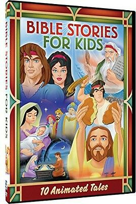 Bible Stories For Kids: 10 Animated Tales - 2 DISC SET (DVD Used Very Good)