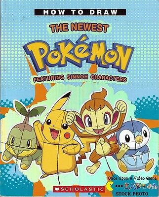 How To Draw The Newest Pokemon Featuring Sinnoh Characters - Sketch Book