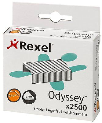 Rexel Odyssey Heavy Duty Staples Pack of 2500