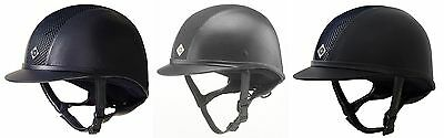 Charles Owen Childs Ayr8 Leather Look Horse Riding Helmet Kitemarked PAS015