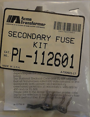 Acme Transformer Secondary Fuse Kit PL-112601