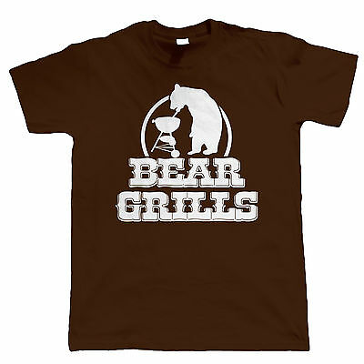 Bear Grills Funny Men Shirt - Fathers Day Gift For Dad