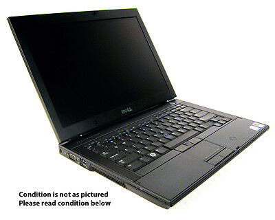 USED DELL LATITUDE E6400 LAPTOP C2D 2.4GHZ DVD WINDOWS 7 HOME SCRATCH DENT SALE