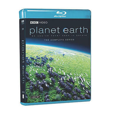 Planet Earth - The Complete Collection (Blu-ray, 4-Disc Set) David Attenborough