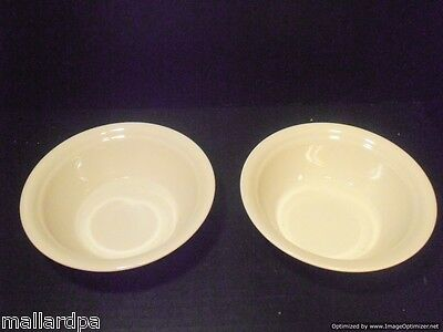 """Corelle by Corning Off White Bowls Set of 2 Made In The USA 6-3/4"""""""