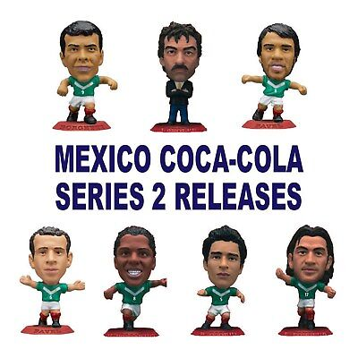 COCA-COLA MEXICO NATIONAL TEAM SERIES 2 MICROSTARS Choice of 12 Figures RED Base
