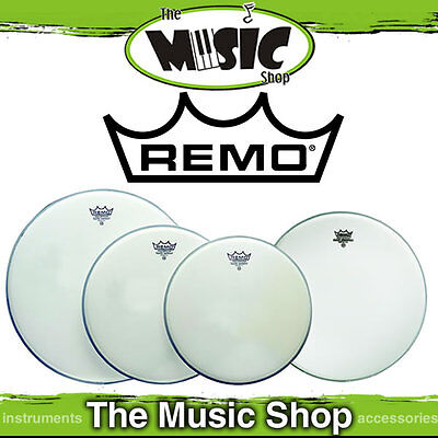"Remo Drum Head Pack - Emperor Coated Rock Skins 12"" 13"" 16"" + 14"" Amb PP-1010-BE"