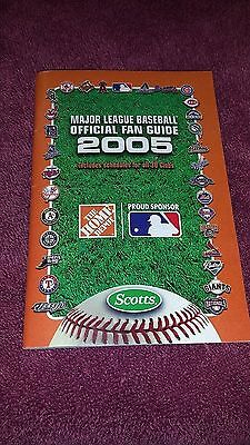 SCARCE! 2005 Major League Baseball Fan Guide With COMPLETE SCHEDULES! JETER