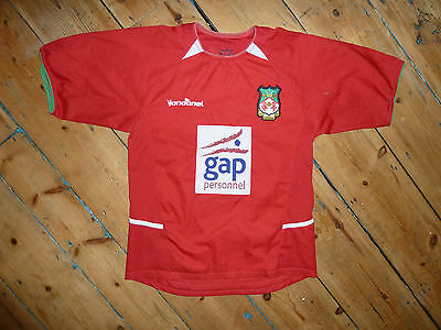 + WREXHAM Shirt + SMALL + Wales football jersey trikot camiesta #WAFC