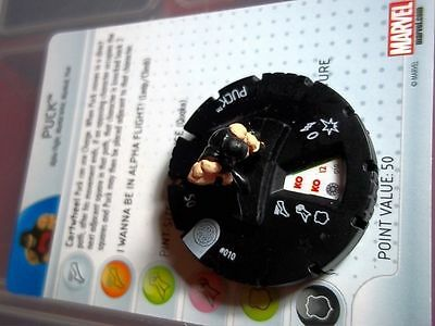 AA Heroclix PUCK 010 Common Experienced Invincible Iron Man Marvel NO RESERVE!!!