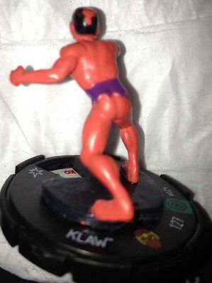 AA Heroclix KLAW 029 Uncommon Captain America Marvel with card Avengers Enemy 29
