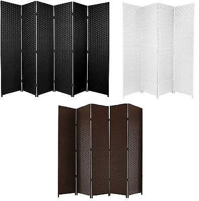 ENTWINE SQ Hand Made Wicker Room Divider Choice of Size / Colours
