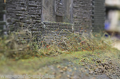 WWS Loose Weeds for Model rail layouts. OO HO N Gauge