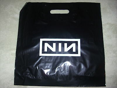 VERY RARE PROMO Nine Inch Nails LP cd SHOPPING BAG The Fragile 1999 Trent Reznor