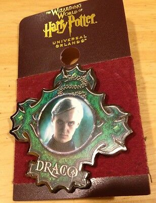 Universal Wizarding World Of Harry Potter Draco Character Trading Pin New