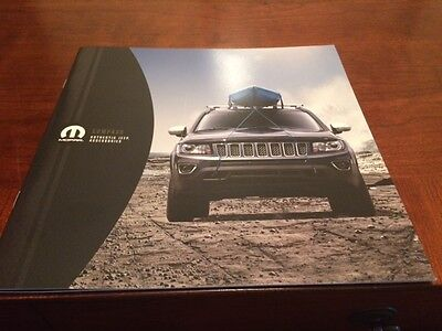 2015 Jeep Compass Accessories 12-page Original Sales Brochure