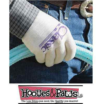 Classic Deluxe Roping Gloves Choose pack Sizes Success is in your hands Horse
