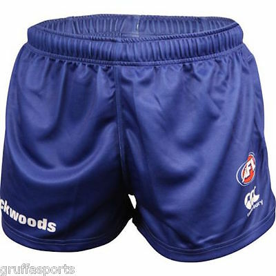 "North Melbourne Kangaroos On Field Home Shorts Sizes 30"" - 42"" Blue AFL CCC 5"
