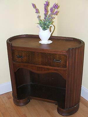 Small Antique Vintage Art Deco Buffet Bar Credenza Sideboard Beautiful Detail