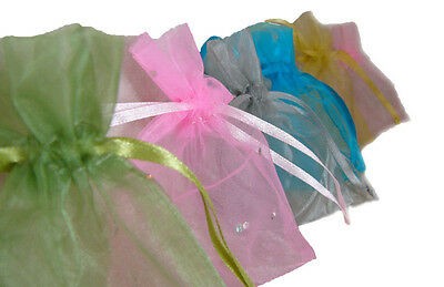 Organza Bags - Jewellery Wedding Bomboniere Candy Packaging - Free Post Shipping